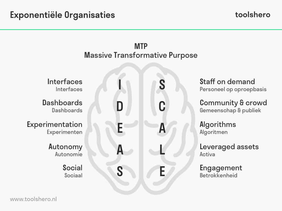 Exponentiële Organisaties model - toolshero