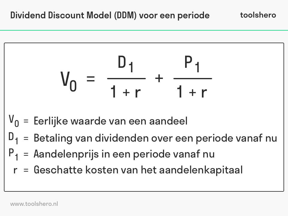 Dividend Discount model voor een periode - toolshero