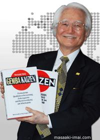 Masaaki Imai biografie & quotes - Gemba Kaizen goeroe | ToolsHero.nl